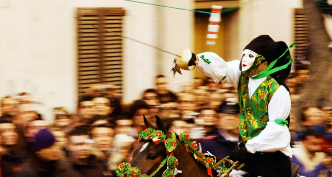 Ability and allure at Sa Sartiglia: carnival in Oristano