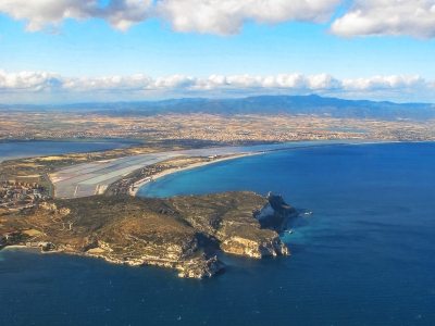 Poetto: the long beach of Cagliari