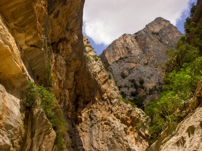 Caves and canyons in Sardinia