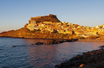 Towns food and nature of North Sardinia