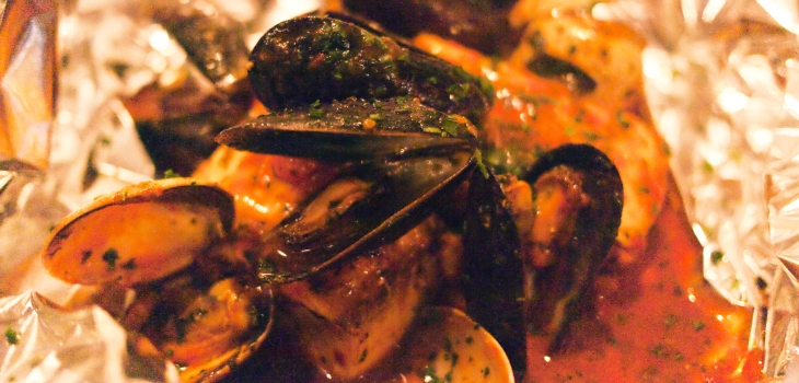 Mussel and clam soup - Sardinian recipe